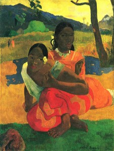 Paul Gaugin's Two Girls